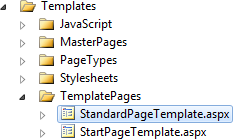 Page template for the StandardPage page type